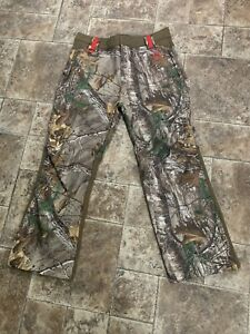Realtree Xtra Fleece Lined Stretch XL(46-48) Mens Pants NEW