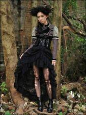 Gothic Lolita Steampunk Burlesque Red Queens Black Legion Rock Spitze 34 36 38