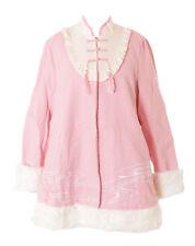 TJ-04 Sakura Rose Brodé Manteau D'Hiver Chinoise Style Veste Pastel Lolita