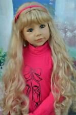 Masterpiece Dolls Christina Blonde Wig, Fits Up To a 20-inch Head