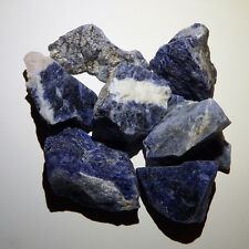 Sodalite (1) Natural raw rough healing root jewelry crystal quartz stones blue