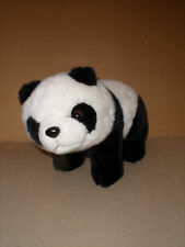 "LONGBO Panda Bear Soft Plush Stuffed Animal Toy 11"" EXCELLENT"