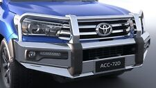 GENUINE TOYOTA HILUX SR5 JUL15> ALLOY BULL BAR FOG LAMP COMPATIBLE HIGH STRENGTH