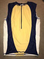 Men's Triathlon Tri Singlet Jersey De Soto Performance Large L