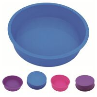 Round Silicone Bread Mold Cake Pan Muffin Bakeware Mold Baking Tray Mould