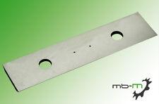 10Stk. HM Wendeplatten / Wendemesser 50x12x1,5mm 2 Schneidkanten
