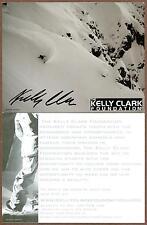 Kelly Clark, Olympic Snowboard Champion, Signed Photocard, COA