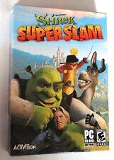 Shrek SUPERSLAM PC CD-ROM comedia lucha Dreamworks Juegos Totalmente Nuevo Y Sellado!
