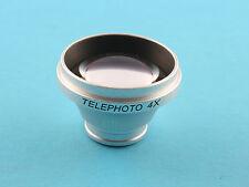 Magnetic 4X Telephoto Lens for iPad 2 Samsung Galaxy Tab Digital Camera Notebook
