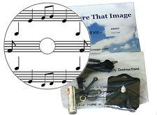 CD FAI DA TE OROLOGIO KIT. Note MUSICALI. un REGALO UNICO. SPARTITI MUSICALI Orologio da parete.