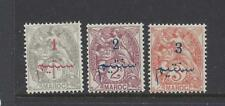 FRENCH MOROCCO - 26 - 28,30 - 33 -  MH - 1911-1917 - NEW VALUE + ARABIC O/P