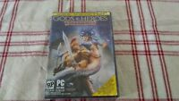 Gods & Heroes: Rome Rising (PC, 2011) pre order with exclusives factory sealed.