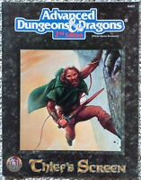 Thief's Screen - Advanced Dungeons & Dragons - AD&D TSR (COMPLETE)