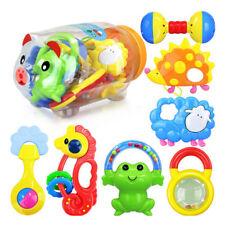7tlg/Set Baby Spielzeug Motorik Rasseln Greiflinge Rassel Babyrassel