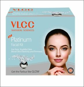 VLCC Natural Sciences Platinum Facial Kit - 60g for Firm, Youthful Skin