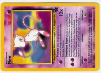 PROMO POKEMON card carte N°  8 MEW Mint