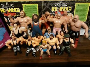 Vintage Wrestling Action Figure lot wwf Hasbro and Ljn figures