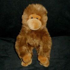 Ty 2004 Classic Beanie Buddies Topanga Brown Monkey Stuffed Animal Plush Toy