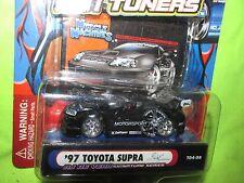 1997 97  TOYOTA SUPRA   muscle machine Import tuner funline  1/64  BLACK
