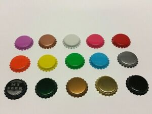 BOTTLE BEER CROWN CAPS 26mm Mix VERY GOOD SEAL QUALITY Home Brew FREE DELIVERY