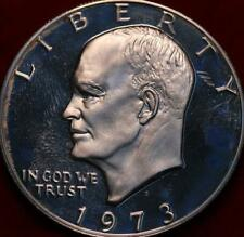 Uncirculated Proof 1973-S Silver Eisenhower Dollar