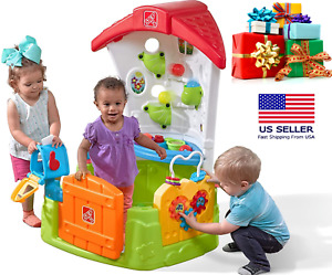 Step2 Indoor Outdoor Wonderball Fun House Toddler Corner Ball Activity Set Toy