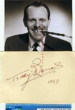 More details for terry thomas vintage signed page aftal#145