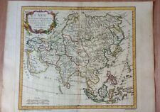 Antique Map of Asia by Robert de Vaugondy 1762