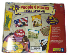 (New)Educational Insights Hot Dots Cover-Up Games-People and Place
