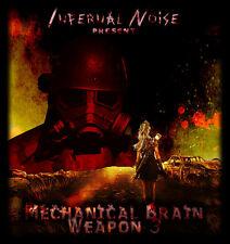 3 CDS MECHANICAL BRAIN RECORDS BREAKCORE GABBA HARDCORE INDUSTRIAL SPEEDCORE