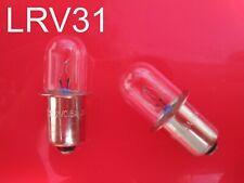 (2) CRAFTSMAN 19.2 v VOLT Flashlight / Worklight Replacement XENON Bulb 19v