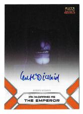 Topps Star Wars Rebels Ian McDiarmid Emperor Palpatine autograph card + Bonus