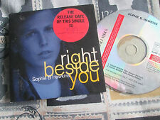Sophie B. Hawkins ‎– Right Beside You  Columbia ‎– SAMP 2257 1 Promo CD Single
