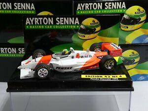 Minichamps 1:43 Ayrton Senna Penske Chevrolet Indycar 1993 ASC No 4