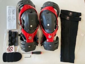 Asterisk Cell Knee Braces, Size Large With Tools, Pads & Sleeves - Never Used