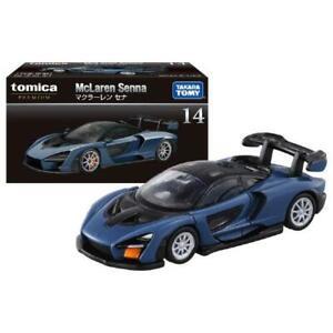 Takara Tomy Tomica  Premium No. 14 McLaren Senna Mini Diecast Model Toy Car