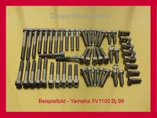 Yamaha Virago XV 1100 /Y1999/ Stainless Steel Bolt-kit Screws Cover Motor Engine