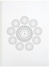 White Fabric Soft Notebook Inspired A5 (Grandluxe) (Office Produc. 9781781033432