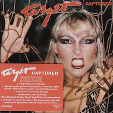 TARGET - CAPTURED - ROCK CANDY REMASTERED EDITION - NEW CD