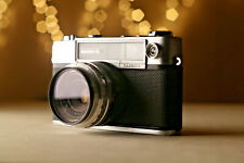 Yashica Minister-D 35mm Rangefinder camera with filter - TESTED - WORKING