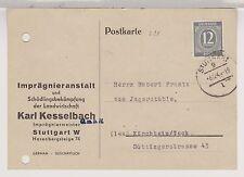 All.Bes./Gem.Ausg., Mi. 920, EF, Stuttgart 9 (apt), 3.12.46