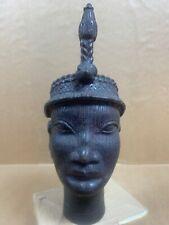 AFRICAN Vintage Benin Bronze Head