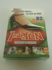 1st and Ten - Complete Collection DVD Set Brand New Sealef All 80 Episodes