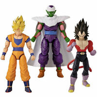 Dragon Ball Stars Series Figure Wave 13 SS GOKU Ver. 2 SS4 VEGETA PICCOLO w/CAPE