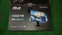 """ASUS VG278Q  27"""" Full HD Gaming LCD Monitor with FreeSync PLEASE READ Damaged"""