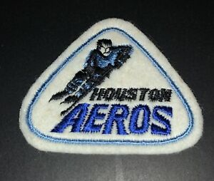 Houston Aeros 1970s WHA Patch