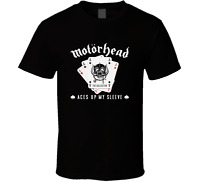 MOTORHEAD ACES UP MY SLEEVE Logo T Shirt Size S - 6XL, >>Free Shipping<<