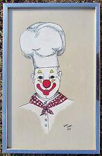 1975 De Wandel Establishment- Mommen Canvas Painting- Linda Labbo - Brussels BE