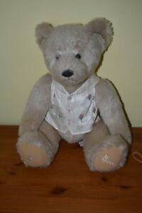 Rare Harrods Knightsbridge Rosebud Bear Special Edition In Bloom 2003 Spring