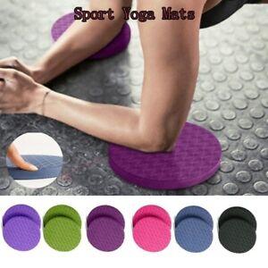 2PCS Yoga Workout Knee Pad Elbow Cushion, Exercise & Fitness Foam